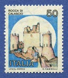 Varieta  Castelli 50 Lire Senza Stampa DEL Giallo Bolaffi 1611B  Rosa    eBay