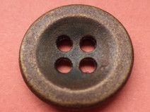 METALL KNÖPFE 15mm bronze (2216e) Metallknöpfe