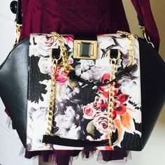 BEBE large bag   BEBE large bag  like new condition. Size 14L x 10H x 6.5W. bebe Bags Crossbody Bags