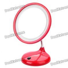 USB Rechargeable Flexible Neck White Light Desktop Mirror w/ Magnification for Makeup Cool Gadgets, White Light, Flexibility, I Shop, Desktop, Usb, Cosmetics, Mirror, Makeup