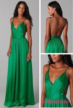 Green Prom Dresses,Chiffon Evening Gowns,Modest Formal Dresses,Backless Prom Dresses,2018 New Fashion Evening Gown,Open Back Evening Dress,Open Backs Evening Gowns PD20184986