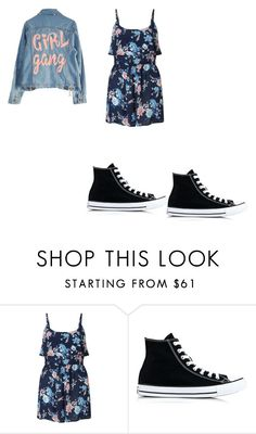"""cutei pie"" by princesscouture1229 on Polyvore featuring Miss Selfridge, Converse and High Heels Suicide"