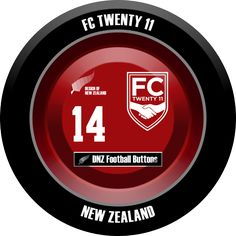 DNZ Football Buttons: Twenty 11 FC