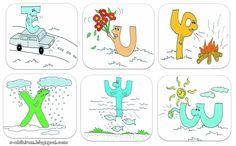 Los Niños: Γραμματοφατσούλες