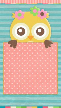 #spring #owls #wallpaper #iphone