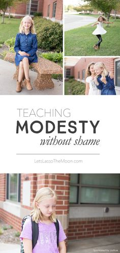 If you're a mom of young girls, this is a must-read post. Find three tips for teaching your daughter how to be modest with her clothing choices. *Yes, yes, yes! Great tips for parents doing back-to-school shopping.