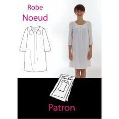 Patron Robe noeud