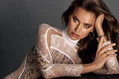 Irina Shayk stuns on the October 2016 cover of Glamour Russia. The L'Oreal…