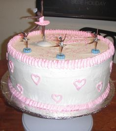 Ballerina Birthday Cake | Ballerina Cake2