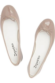 Repetto | BB patent-leather ballet flats | NET-A-PORTER.COM