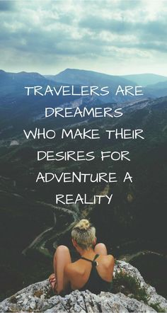 Here are 20 travel quotes that will inspire you to travel further and more often. travel quotes 20 Top Travel Quotes for Adventurous Women Best Travel Quotes, Best Quotes, Quotes About Travel, Quotes About Adventure, Quotes About Nature, Nature Quotes Adventure, Quotes About Vacation, Quotes About Hiking, Quote Travel