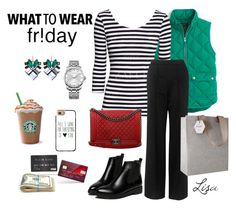 """""""Black Friday Shopping"""" by coolmommy44 ❤ liked on Polyvore featuring J.Crew, Whistles, Chanel, Calvin Klein, Nak Armstrong, Casetify, Kami Design, shopping, blackfriday and shoptilyoudrop"""