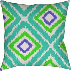 MOD Home Expressions Ikat Pillow