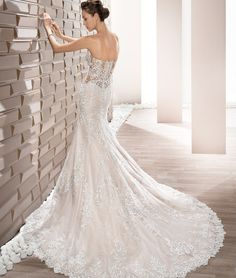 407398f9c146 See more. This is the dress! Demetrios 2017 Style 709 by Demetrios Bridal  Wedding Dresses