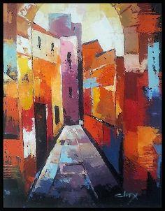 Laurence Clerembaux - la ruelle