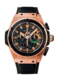 King Power F1™ India 48mm Chronograph watch from Hublot