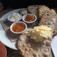 Breakfast @petersyard @soderbergbakery Caroline's favourite #breakfast