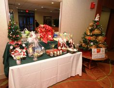 Just a few of the Raffle Items that all have new homes. Leukemia And Lymphoma Society, Raffle Tickets, How To Raise Money, Trees, Gift Wrapping, Christmas Tree, Table Decorations, Holiday Decor, Gift Wrapping Paper