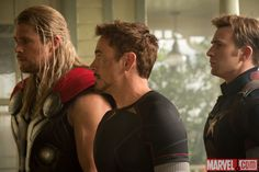 "Thor, Tony and Steve: ""Avengers: Age of Ultron"""
