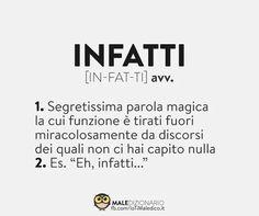 Italian Memes, Italian Quotes, Funny Pins, Funny Memes, Funny Cute, Hilarious, Daily Mood, Funny Phrases, Lol So True