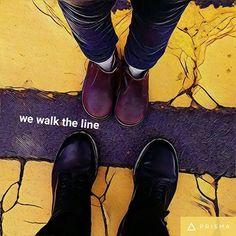 We walk the line. #ScottNeri www.scottneri.com #arte #yoartista #ElArteDelImaginista #ScottNeriElArteDelImaginista #art #mexicanart #artemexicano