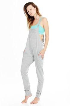 'Mudra' Yoga Jumpsuit Womens Grey