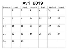 Calendrier 2019 Mensuel Avril Planificateur | Best Reviews 2019 Buyers Guide, Lund, Pdf, Words, Planner Organization, Horse