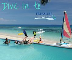 There are many ways to 'put your feet up' at Treasure Island Resort!