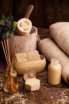 #Spa Setting by Lumina  #soaps #bath