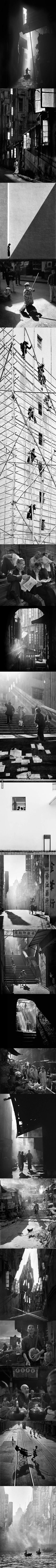 1950s Hong Kong Captured In Street Photography (By Fan Ho)