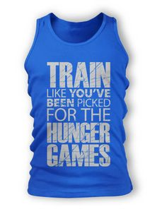 Workout top. Train like you've been picked for the Hunger Games.