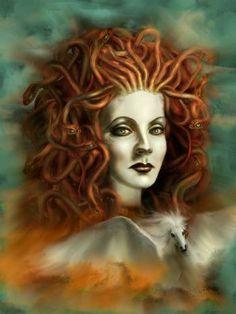 Medusa Greek Goddess