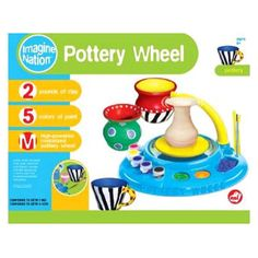 Found it at Wayfair - Pottery Wheel Set