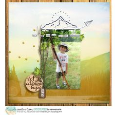 Digital Scrapbooking Kit   LOST AND FOUND | ForeverJoy Designs