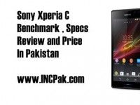 Sony Xperia C Benchmark, Specification and Price in Pakistan Buy Cell Phones Online, Smartphone Reviews, Latest Phones, Sony Xperia, Pakistan
