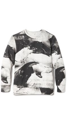 Printed whale sweatshirt by Insted We Smile