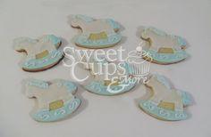 Cookies Caballitos Mecedores para el Baby Shower de Benjamín