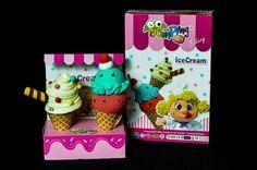 JumpingClay Bakery Series Ice Cream