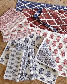 williams-sonoma pachar mix & match place mats, $48.00