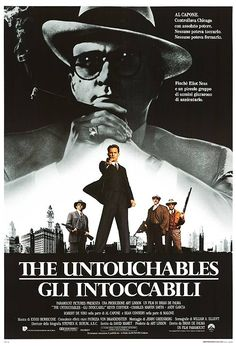 The Untouchables - Italian Poster 1987