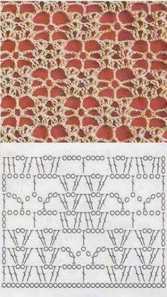Watch This Video Beauteous Finished Make Crochet Look Like Knitting (the Waistcoat Stitch) Ideas. Amazing Make Crochet Look Like Knitting (the Waistcoat Stitch) Ideas. Crochet Motifs, Crochet Diagram, Crochet Stitches Patterns, Crochet Chart, Filet Crochet, Crochet Designs, Stitch Patterns, Stitch Crochet, Crochet Poncho