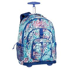 Gear-Up Cool Cheebrah Rolling Backpack #pbteen