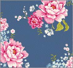 Tilda - Flowerpatch Blue