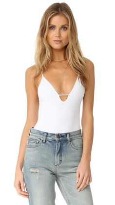 4d9b6aa3a370d Move Along Bodysuit by Free People in White Free People Bodysuit
