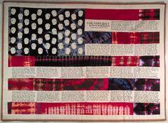 Flag Story Quilt; Faith Ringgold