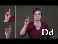 Alphabet in American Sign Language - YouTube