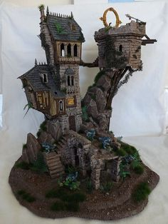 Wizards Home and Portal Tower: