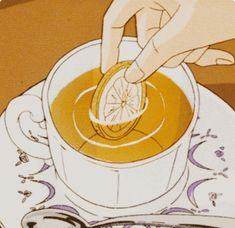 Yellow Aesthetic Pastel, Orange Aesthetic, Aesthetic Art, Aesthetic Anime, Yellow Theme, Theme Color, Aesthetic Backgrounds, Aesthetic Wallpapers, Anime Lemon