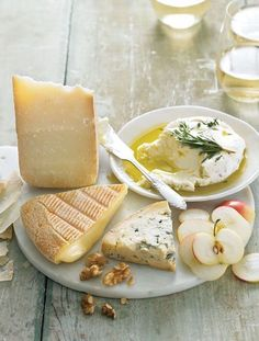 Summer Cheese Plate