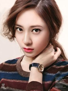 Jung SooJung(born October 24, 1994)better known by Krystal, is an American and South Korean singer and actress based inSouth Korea.